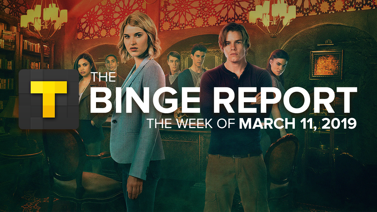 """BINGE REPORT: New Netflix Series Shake Up """"The Order"""" Of Our"""